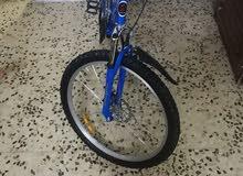 دراجة هوائية للبيع بحالة جيدة السعر 115دينار غير قابل للتفاوض