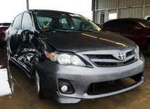 Toyota Corolla 2013 For sale - Grey color