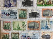 طوابع قديمة لأغلب الدول العربيه للبيع.
