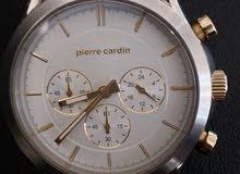 ساعة pierre cardin اصلية مع الكفالة