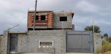 مبني هيكل يتكون من دورين للبيع او الايجار