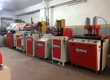 معدات يو بي في سي للبيع بالطلب UPVC machinery for sale