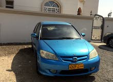 Honda Civic car for sale 2005 in Muscat city