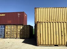 حاويات شحن مستعملة فارغة للبيع