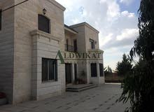More rooms More than 4 bathrooms Villa for sale in AmmanAbu Nsair