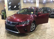 Automatic Maroon Lexus 2014 for sale