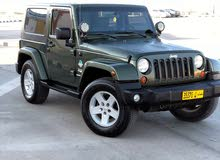 Green Jeep Wrangler 2009 for sale