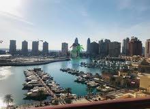 Full Marina view 2 beds +maids room Porto Arabia,The Pearl  QR14,000