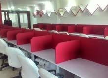 للايجار للشركات الكبري والمؤسسات مبني اداري بمكرم عبيد الرئيسي