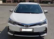 Excellent condition Toyota Corolla 2018 for sale