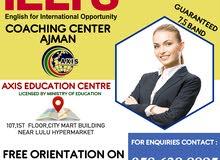 BEST IELTS COACHING CENTER IN AJMAN-AXIS EDUCATION CENTRE