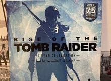 لعبة بلستيشن 4 rise of the tomb raider للبيع
