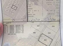 للبيع ارض سكنية في بوشر العوابي على اول خط رئيسي