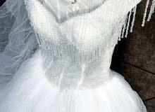 فستان زفاف تصميم فرنسي