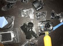 كاميرا للغطس والرياضات الاخرى