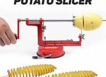 ماكينة تقطيع اابطاطا الحلزونية