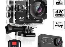 4K Sport Diving Camera,Color Screen 2.0,170