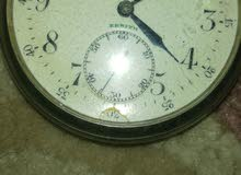ساعة جيب زنيت فضي 1900