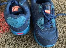 حذاء اطفال رياضي نايك مع اضاءة قياس 22