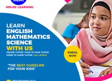 Learn English, Math and Science