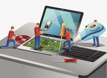 خدمة صيانة أي شيء يخص التقنية أو الاستشارة في أي جهاز تقني