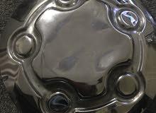 للبيع أغطية جنوط بوليسي (وكالة) اصلية تركب على جميع الجنوط خمس مسامير