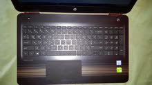 لابتوب HP pavilion core I7 شبه جديد