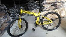 دراجات هوائية رياضية مقاس 26 قابلة لطي بها هيدروليك إثنان أمام ووسط