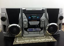 SHARP HI FI. Stereo System . Aux in Ok .   cd not working contact  97235128