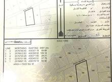 أرض زراعية مقابل ساسال مساحة 5522