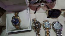 للبيع اقلام ماركات مستعمل أصلي وساعات رولكس طبق الأصل ونظارات ريبان مستعمل أصلي