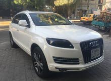 White Audi Q7 2008 for sale