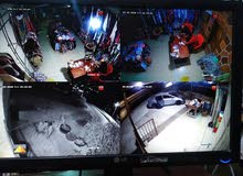 كاميرات مراقبة و الواح تفاعلية