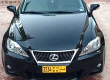 Lexus IS car is available for sale, the car is in Used condition