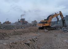 تكسير جبال هدم وازاله المباني مقبل الحديد
