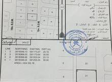 ارض في الصومحان شمال بها جميع الخدمات جاهزة للبناء
