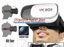 vr box 3D virtual reality نظارة الواقع الافتراضي للهواتف (الكميه محدوده)