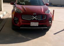 Automatic Red Kia 2017 for sale