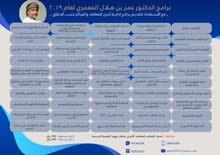 البرامج التدريبية للدكتور عمر بن هلال المعمري في عام 2019