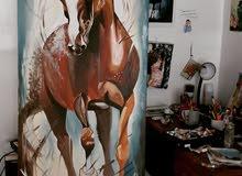 لوحات فنية يدوية اصلية 100%
