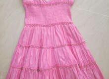 فستان اطفال يلبس من 6 الى 8 سنين