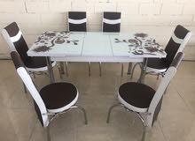 طاولة طعام تركي جديدة بالكرتون