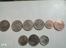 مجموعه من العملات القديمه