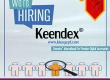 اعلان وظيفة (مسئول او مسئولة مبيعات) لشركة كيندكس