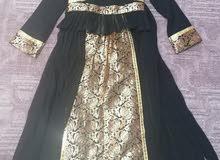 تفصيل فستان جديد قماش بريسم وشيفون