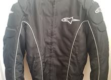 Motorcycle - alpine Jacket and SIDI Shoes