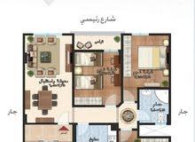 شقة 116 م امتداد معرض سكود ب حي الجامعة