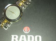 ساعة رادو سويسرية اصلية جديدة