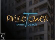 شقة للبيع 75 م على شاطئ روميل بقلب مرسى مطروح  هاي لوكس بمقدم 25 % فقط