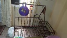 سرير اطفال متارجح حديد منز او مهد تفصيل